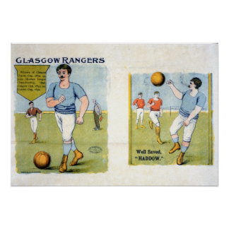 Glasgow Rangers FC, 1894 Poster