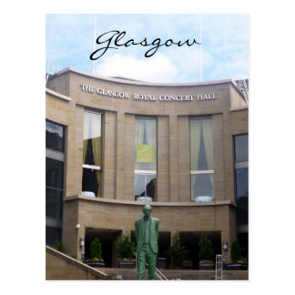 glasgow royal concert hall postcard