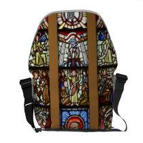 Glasmosaik, kyrkofönster messenger bag