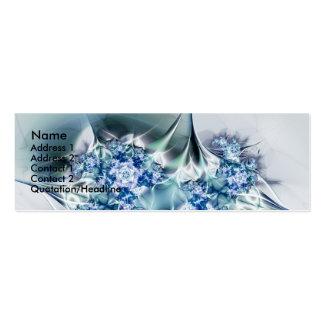 Glasrosen Mini Business Card