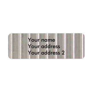Glass 1 - Clear Stripes Label