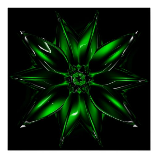 Glass%20Flower%206%20Large Poster