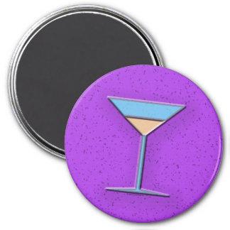 Glass 3 Inch Round Magnet