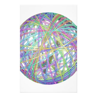 Glass abstract sphere stationery