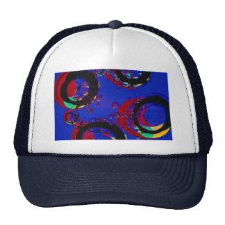 Glass air bubbles trucker hats