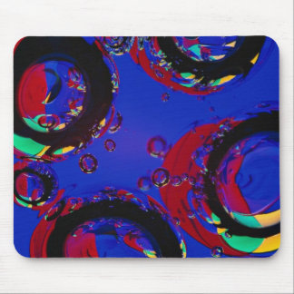 Glass air bubbles mouse pad