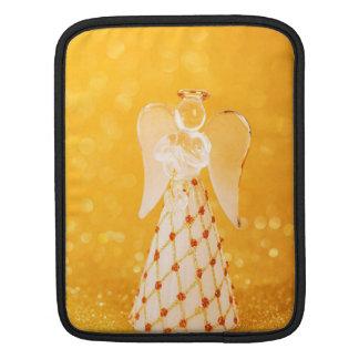 Glass angel Christmas decoration iPad Sleeves