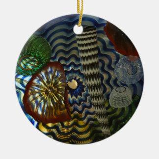 Glass Art Christmas Ornament