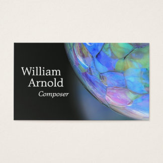 Glass Ball Business Card