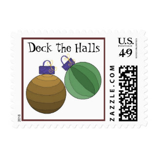 Glass Ball Decorations Postage