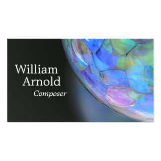 Glass Ball Double-Sided Standard Business Cards (Pack Of 100)