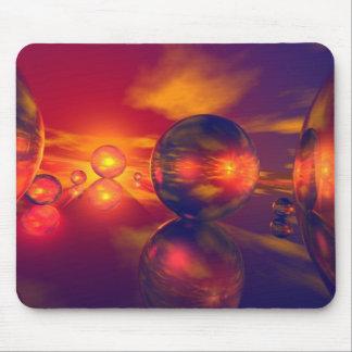 Glass Ball Land Mouse Pad