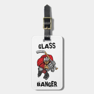 GLASS BANGER TAG FOR LUGGAGE