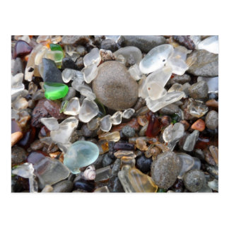 Glass Beach- Fort Bragg CA Post Cards