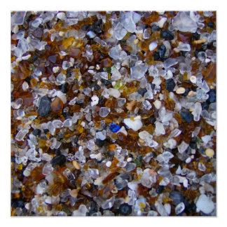 Glass Beach - Glass Poster