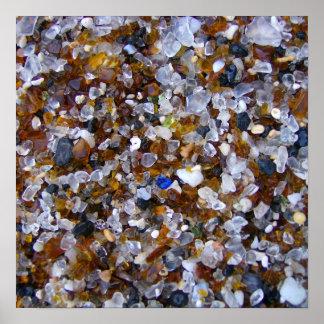 Glass Beach - Glass Poster