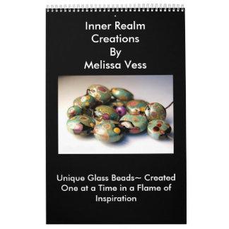 Glass Bead Art by Melissa Vess Calendar