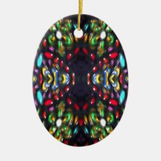 Glass beads of Bred Meli (28). Ceramic Ornament