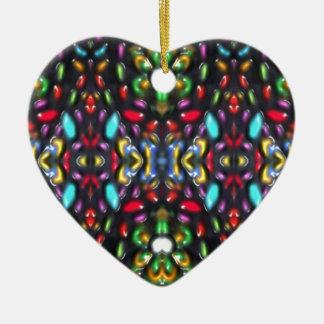 Glass beads of Bred Meli (33) Ceramic Ornament