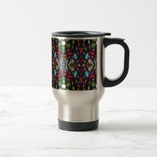 Glass beads of Bred Meli (33) Travel Mug