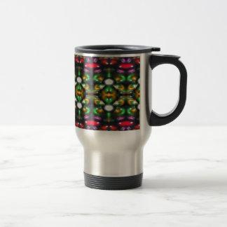 Glass beads of Bred Meli (37). Travel Mug