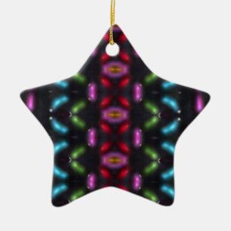 Glass beads of Bred Meli (49). Ceramic Ornament