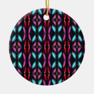 Glass beads of Bred Meli (50). Ceramic Ornament