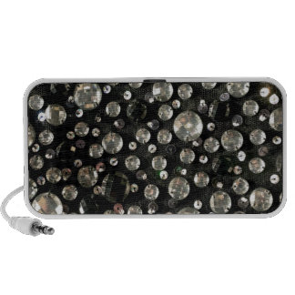 Glass Beads Sequins PC Speakers