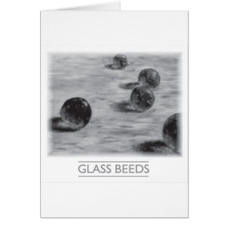Glass Beeds by David Barlow Card