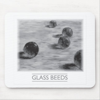 Glass Beeds by David Barlow Mousepad