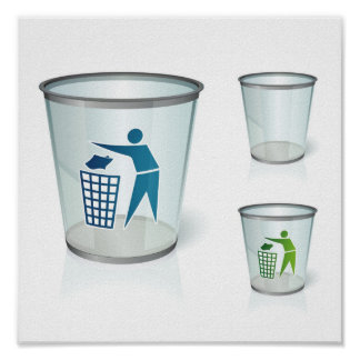 Glass-bin-1014x1024 Poster