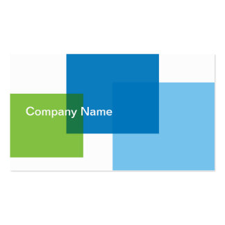 Glass Blocks Double-Sided Standard Business Cards (Pack Of 100)