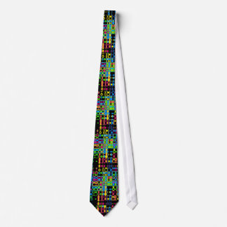Glass Blocks Neck Tie