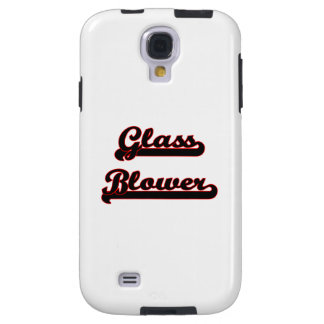Glass Blower Classic Job Design Galaxy S4 Case