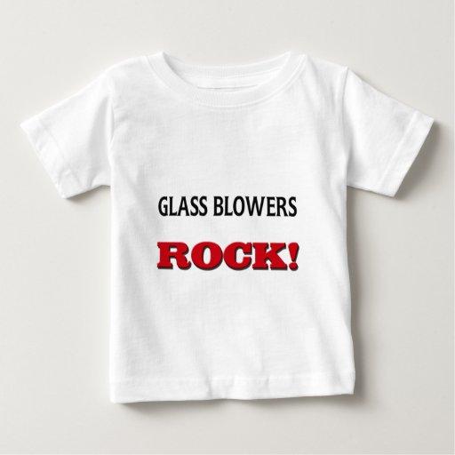 Glass Blowers Rock T-shirts