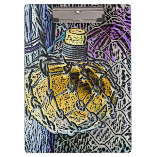 glass bottle purple yellow colored pencil look clipboards