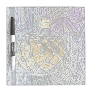 glass bottle purple yellow colored pencil look Dry-Erase boards
