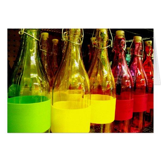 Glass Bottles Card
