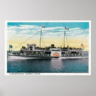 Glass Bottom Boat, Emperor, Avalon Poster