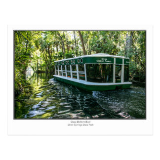 Glass Bottom Boat Postcard