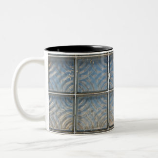 Glass Bricks photo Two-Tone Coffee Mug