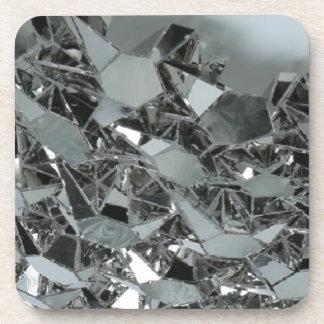 Glass Broken Pieces Coaster