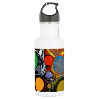 Glass Bubbles, Stainless Steel Water Bottle