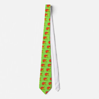 Glass Bulb Ornament Tie