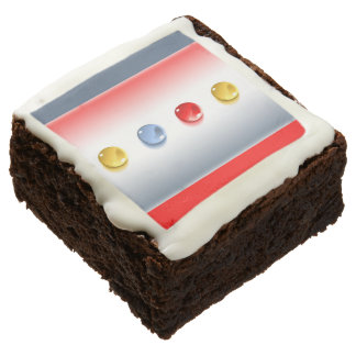 Glass Buttons Brownie