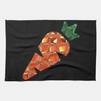 Glass Carrot Kitchen Towel