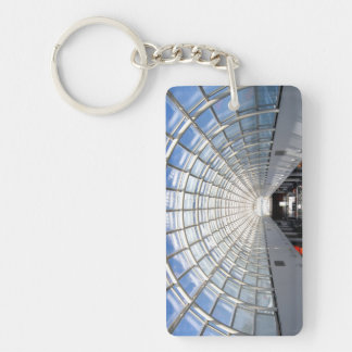 Glass Ceiling Art Photography Acrylic Keychain