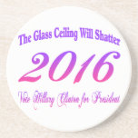Glass Ceiling Beverage Coasters
