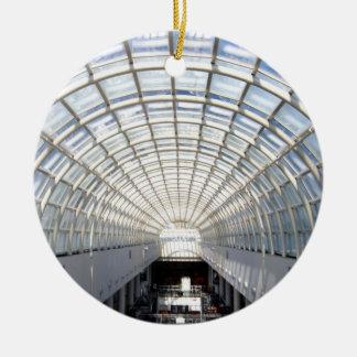 Glass Ceiling Fine Art Photography Ornament