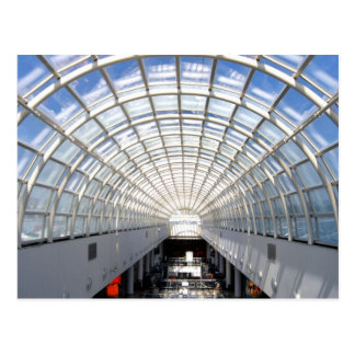 Glass Ceiling Fine Art Photography Postcard